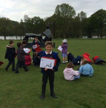 archie's school trip