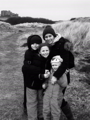 me and kids bamburgh
